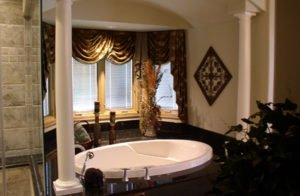 Soaking Tub bathroom remodel in Homer Glenel